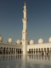 Inside Corner of Mosque