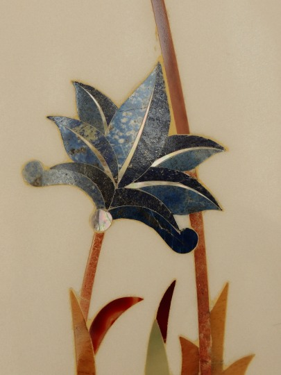 Inlaid Marble Flower