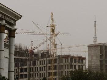 Oe of Hundreds of Building Cranes