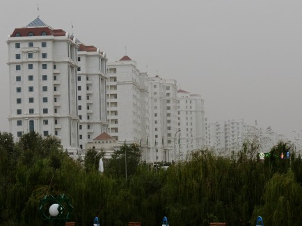 White Marble Apartment Buildings