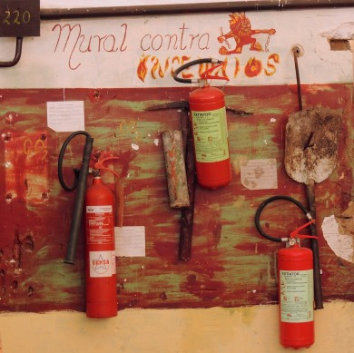 Mural Against Fire