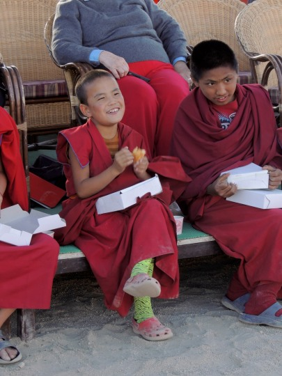 A Young Monk Fan