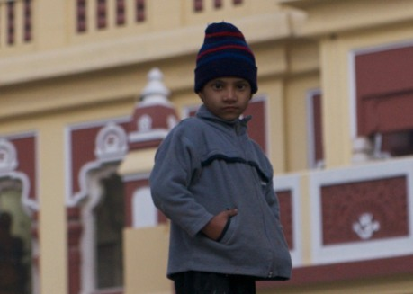 Boy at Birla Mandir