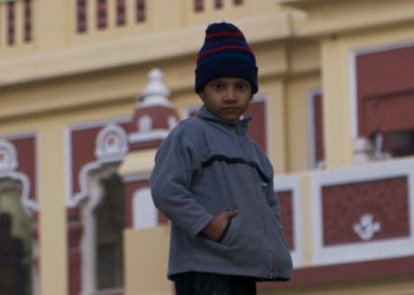 Boy at Birla Mandir