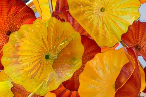 Chihuly, Chihuly Garden, Seattle, Glass
