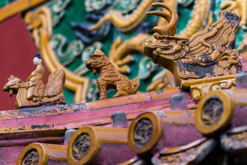 Pictures of the Forbidden City in Beijing China by Mary Catherine Messner