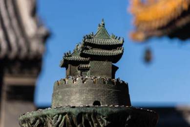 Pictures of the Lamaist Temple in Beijing China by Mary Catherine Messner
