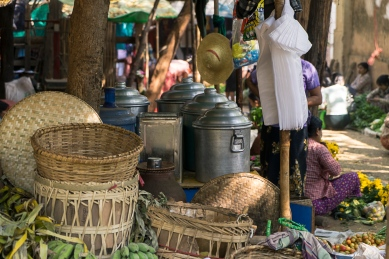 Pictures of Market in Bagan Myanmar Burma with TCS World Travel Uncharted Myanmar trip by mcmessner Mary Catherine Messner