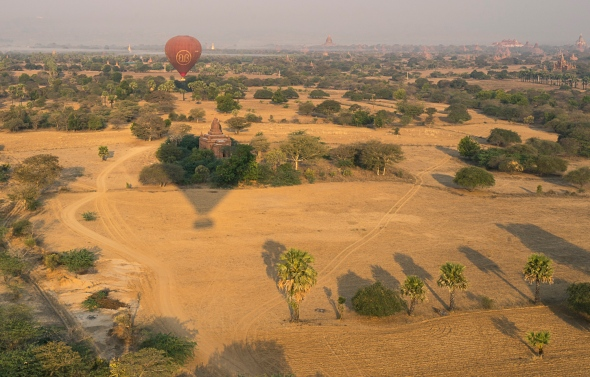 Pictures of Ballooning in Bagan Myanmar Burma with TCS Uncharted Myanmar trip by mcmessner Mary Catherine Messner