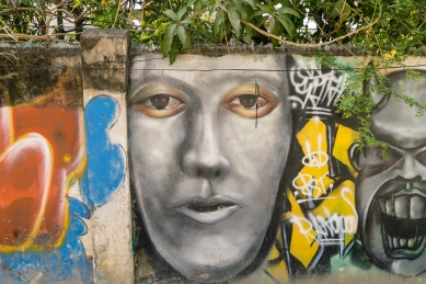 Pictures of Street Art Portraits in Mandalay Myanmar Burma with TCS World Travel Uncharted Myanmar trip by mcmessner Mary Catherine Messner