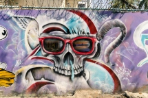 Pictures of Street Art in Mandalay Myanmar Burma with TCS World Travel Uncharted Myanmar trip by mcmessner Mary Catherine Messner
