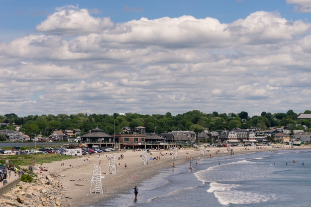 Pictures of Easton's Beach in Newport Rhode Island by mcmessner Mary Catherine Messner