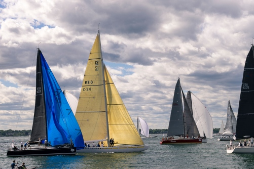 Pictures of Sail Boat Race Regatta in Newport Rhode Island by mcmessner Mary Catherine Messner