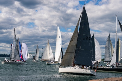 Pictures of Sail Boats in Newport Rhode Island by mcmessner Mary Catherine Messner