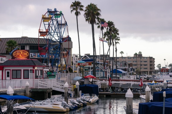 Pictures of Balboa Island, Newport Beach, California, USA.