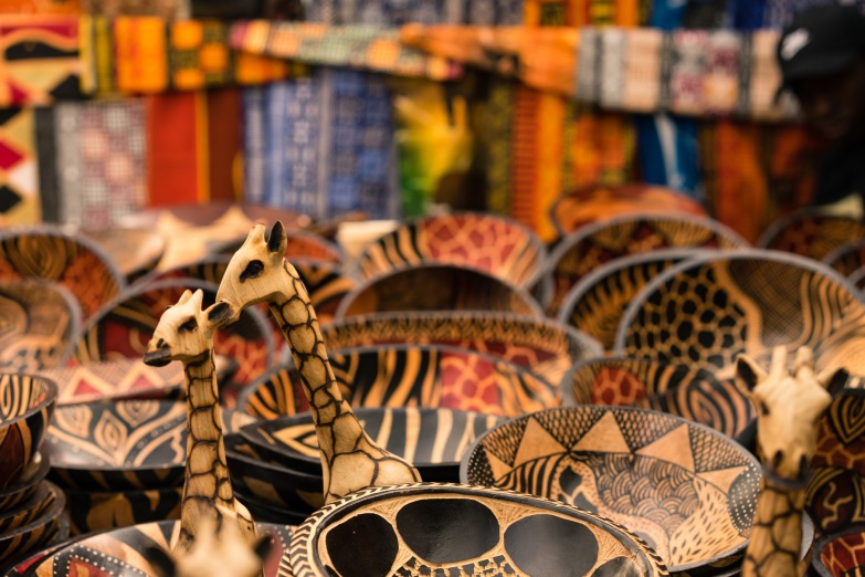 Picture of things seen around Green Market Square in Cape Town,South Africa, Africa while on the 2016 Passport to Folk Art: South Africa trip with BJ Adventures