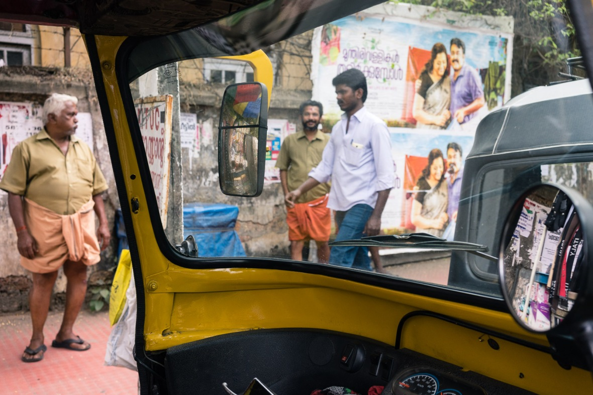 Travel and street photography of Cochin Kochi, Kerala, India taken while Walking the Lanes with Maciej Dakowicz by mcmessner Mary Catherine Messner.
