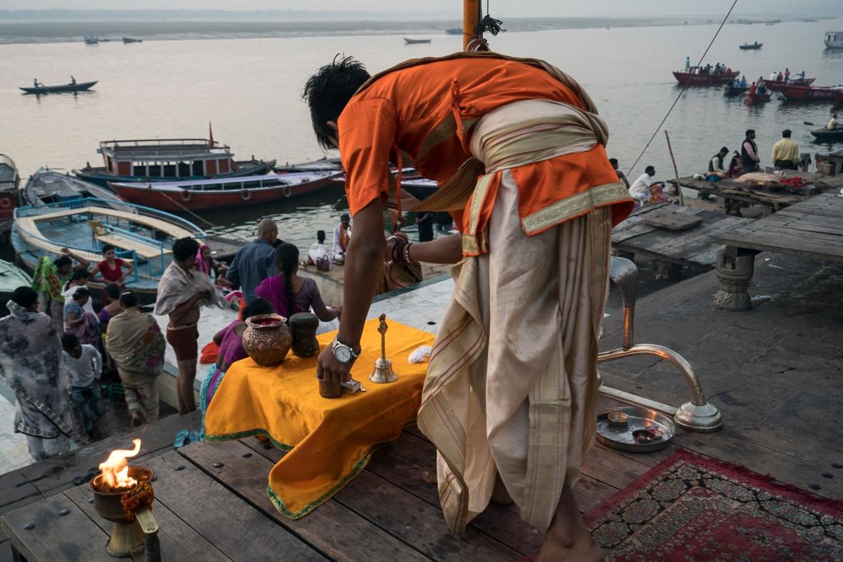 Travel and street photographs of Varanasi Uttar Pradesh India made by Mary Catherine Messner for mctravelpics.com.