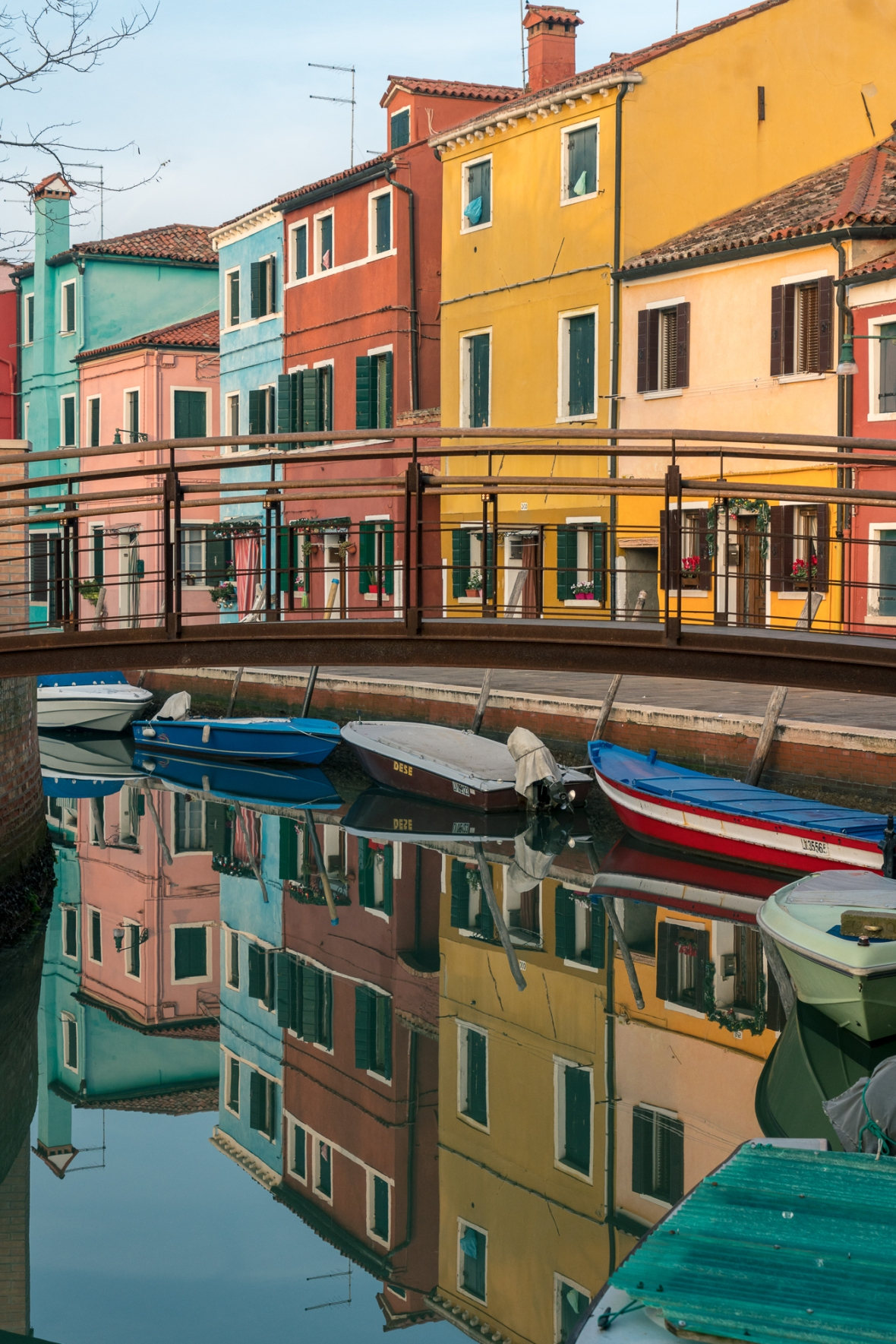 Street and travel photographs of Burano Venice Italy taken by Mary Catherine Messner for mctravelpics.com.