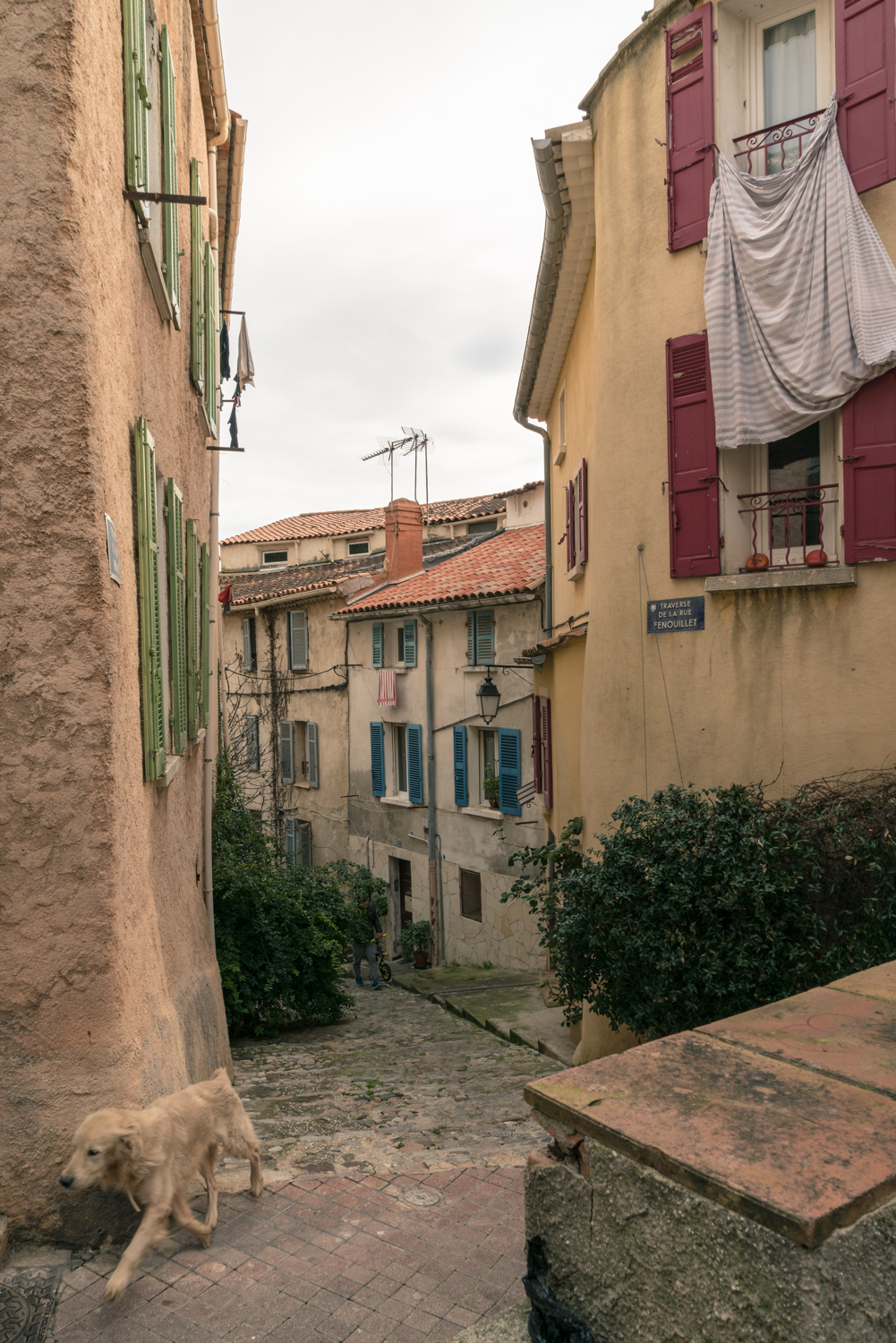 Street and travel photographs of Hyeres France taken by Mary Catherine Messner for mctravelpics.com.