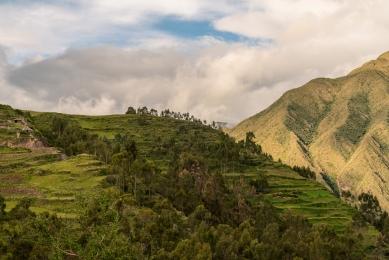 The Andes - Pisac, Peru