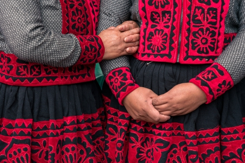 Carnival in Sacred Valley in Pisac Peru Workshop
