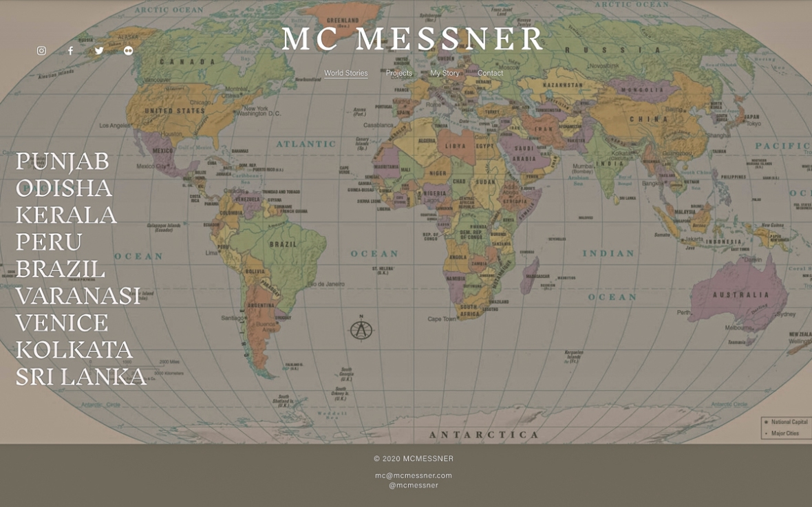 Photography website of Mary Catherine Messner, an award winning photographer located in New York City who tells stories from the world with her images.