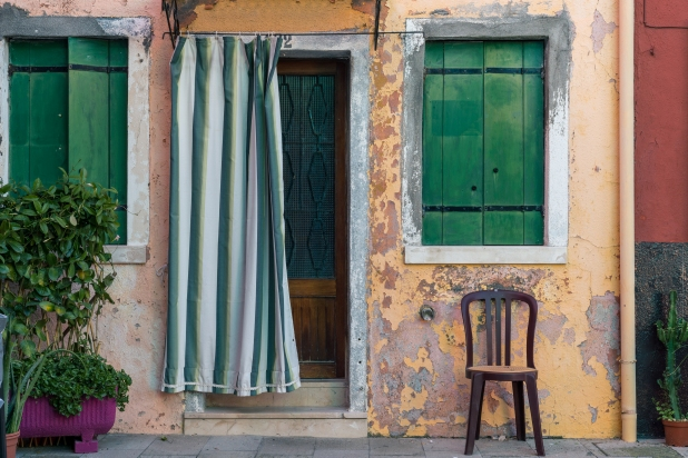 Travel and street photography of Burano Venice or Venezia, Italy made by New York photographer Mary Catherine Messner (mcmessner).