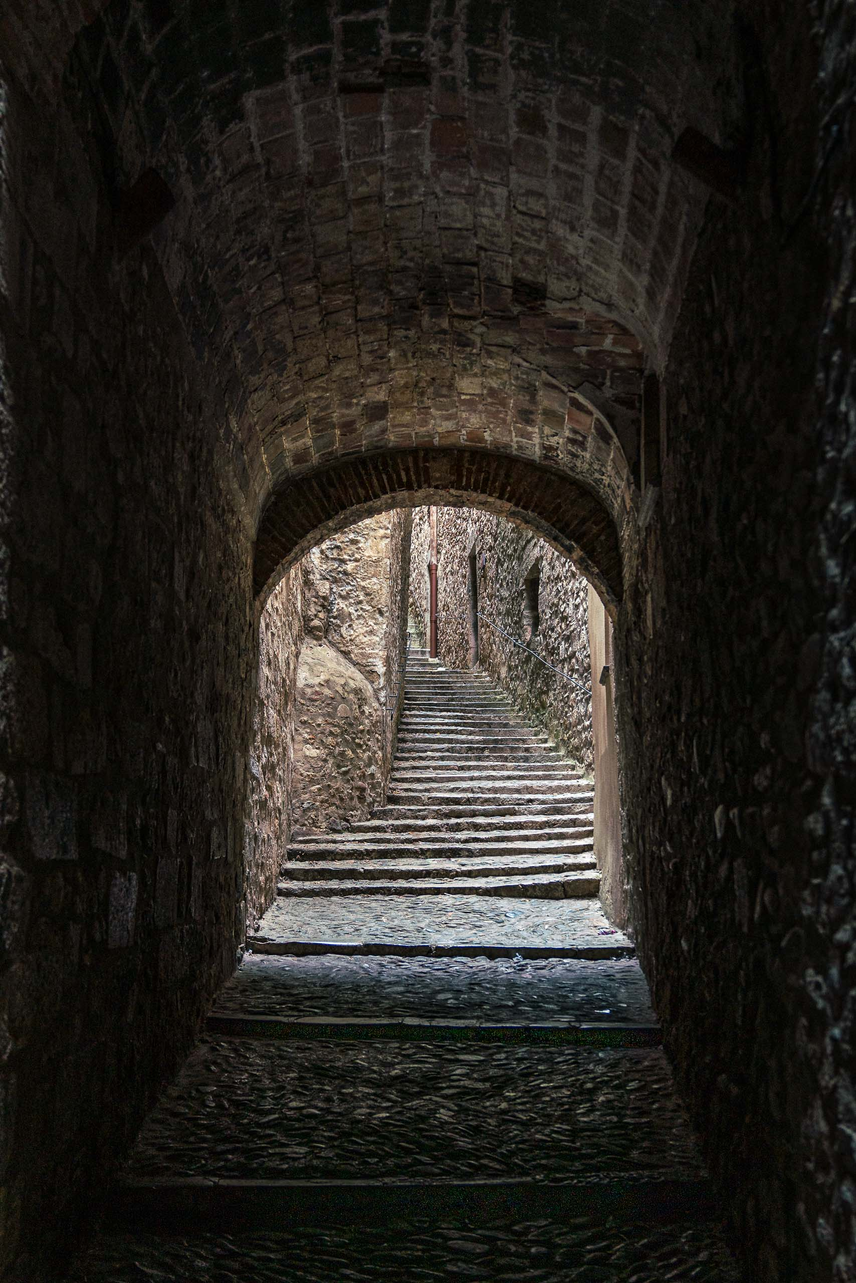 Travel and street photography of Girona, Catalonia Catalunya in Spain made by New York photographer Mary Catherine Messner (mcmessner).